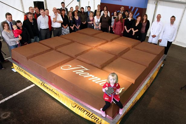 the world's largest chocolate bar