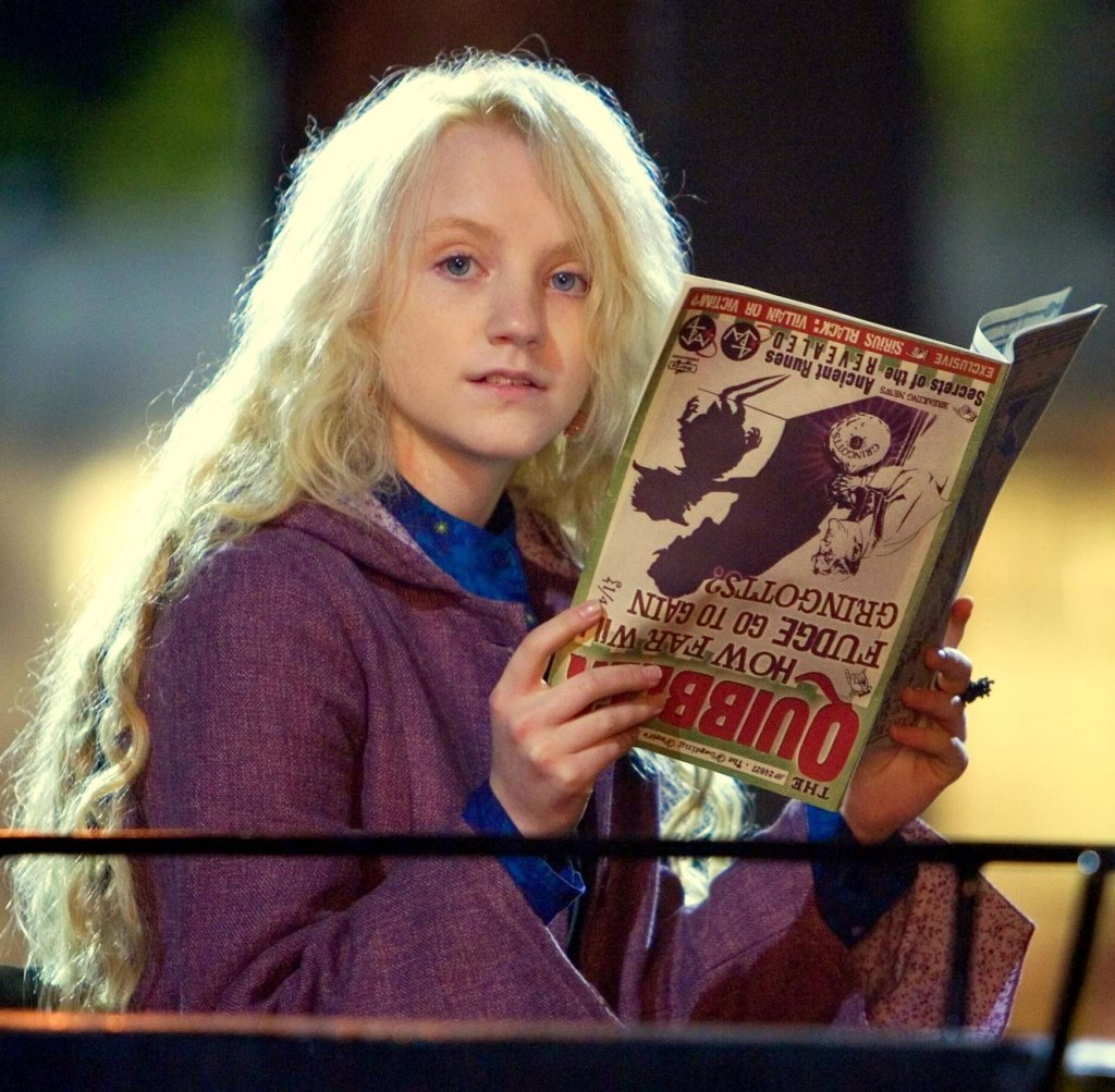Luna Lovegood from Harry Potter