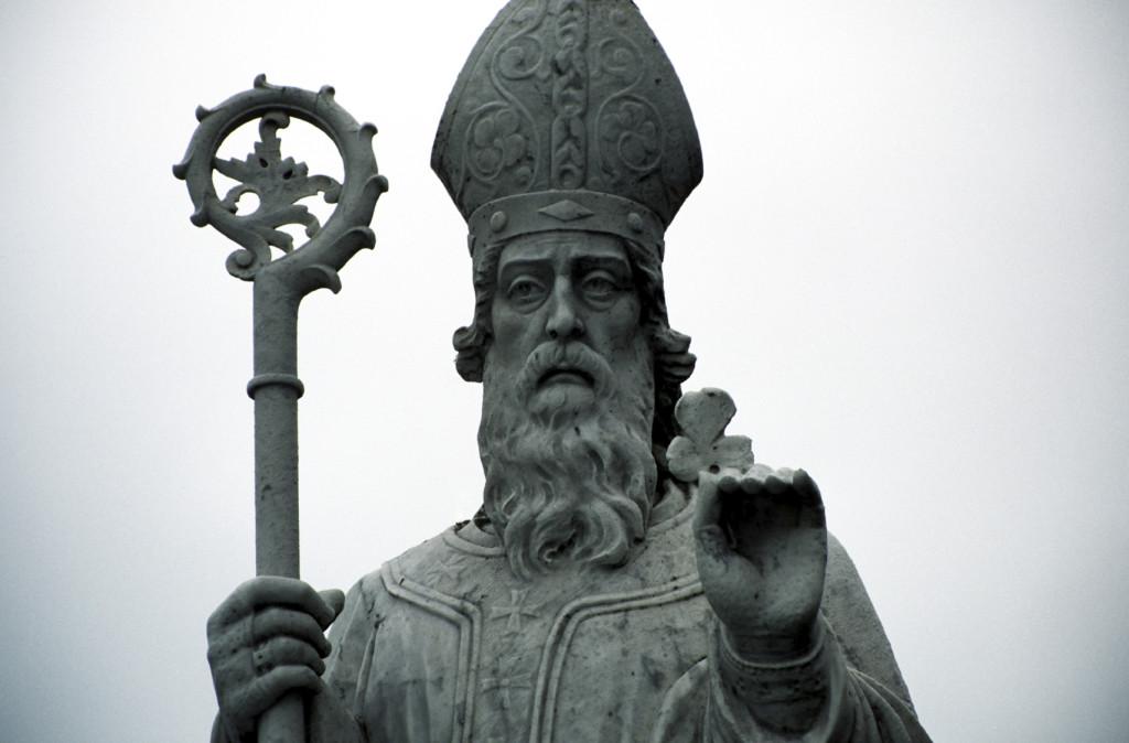 St Patrick statue