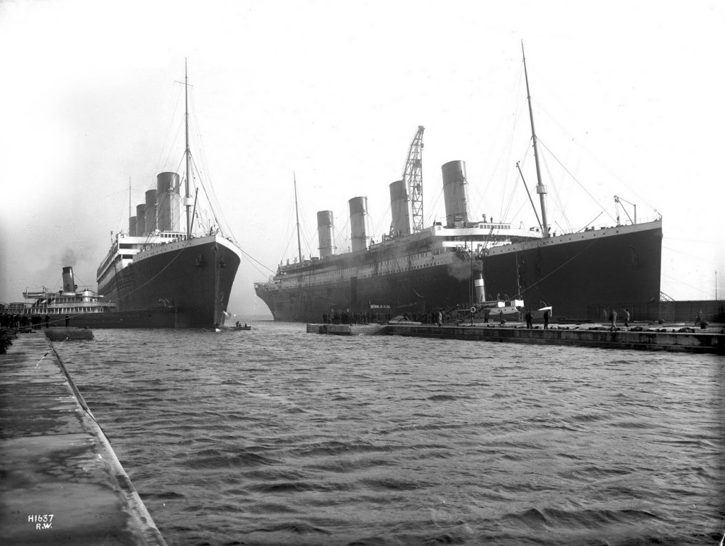 RMS Titanic and Olympic