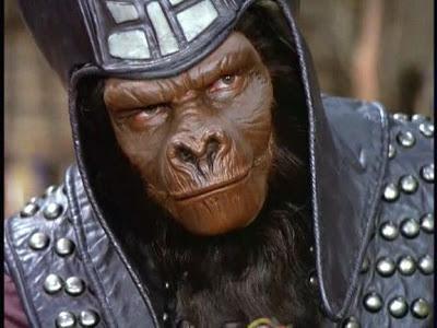 Hybrid ape-man