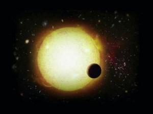 Mercury oribiting the sun