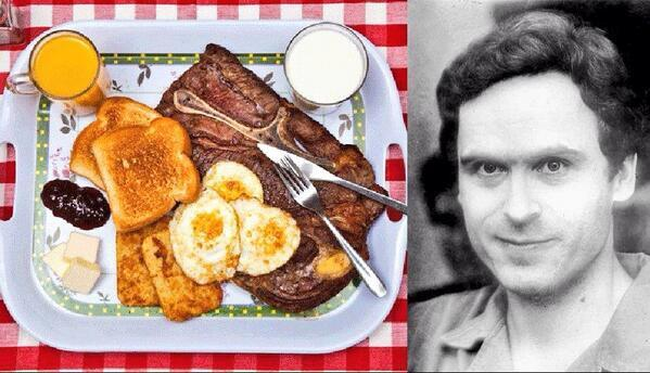Ted Bundy's last meal