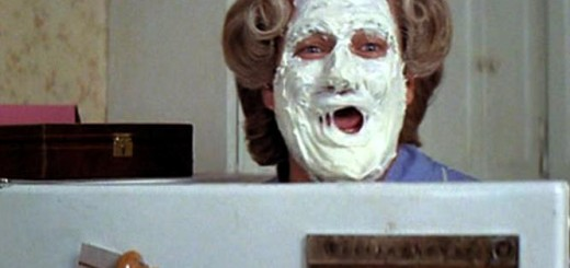 mrs doubtfire cream face