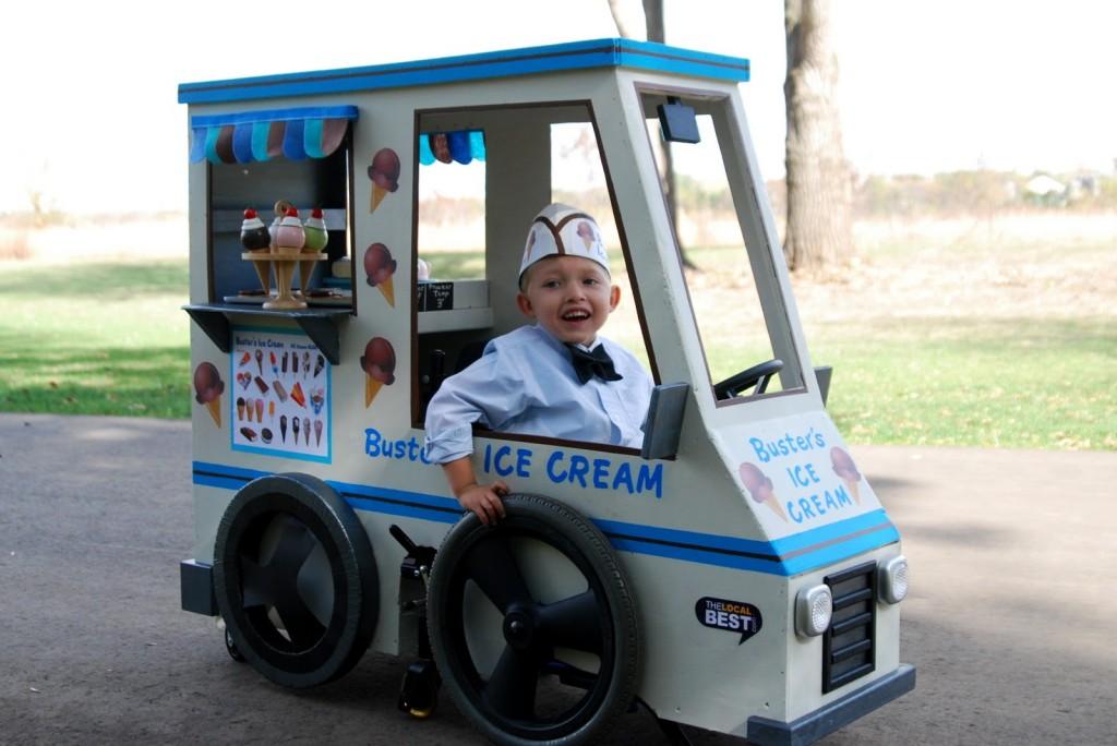 Ice cream truck costume