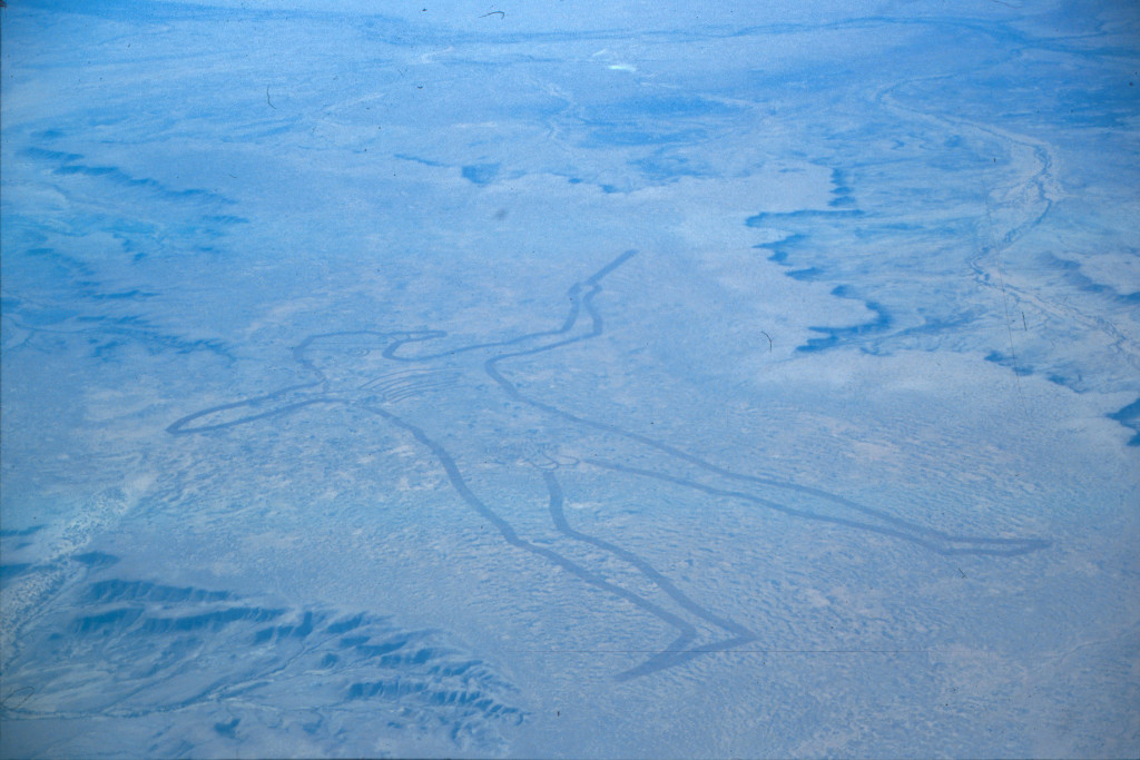 Maree Man geoglyph at Finnis Springs near Maree