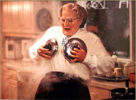 Mrs Doubtfire fire scene