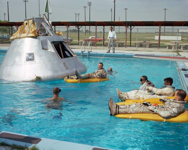 Apollo 1 rehearsal