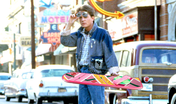 Back to the Future skateboard