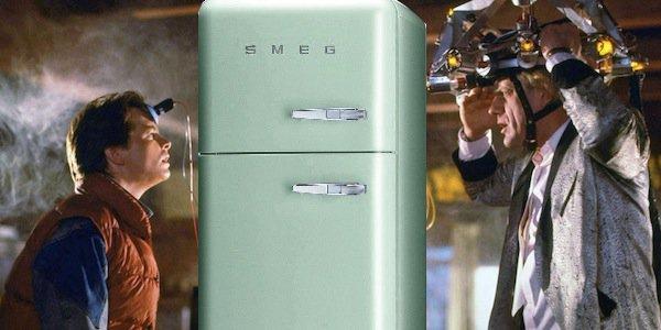 Back to the Future fridge