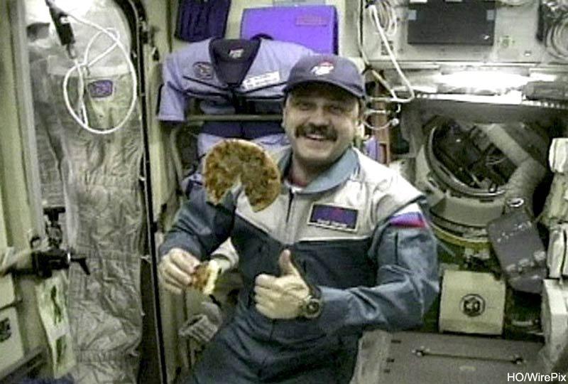 International Space Station Pizza Hut