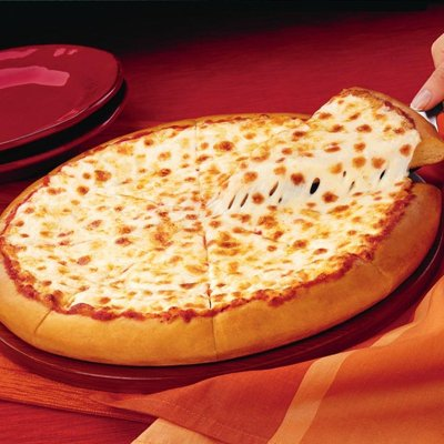 pizza hut cheese pizza calories
