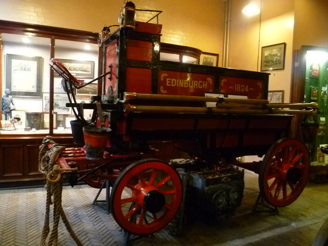 Edinburgh fire truck