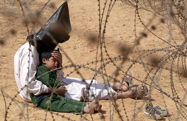 iraqi prisoner and son