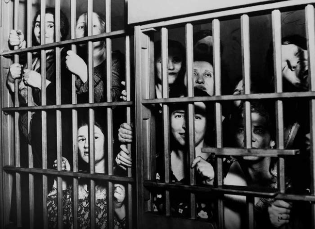 Great depression women jail
