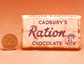 Cadbury's ration chocolate