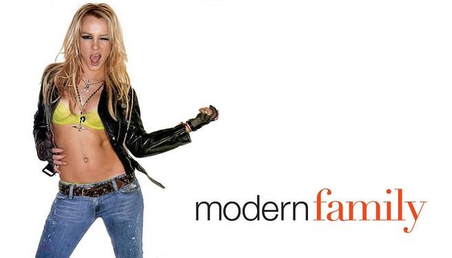 Britney Modern Family