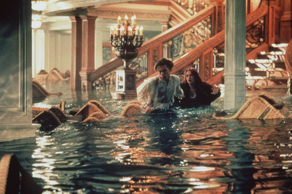 Titanic movie grand staircase