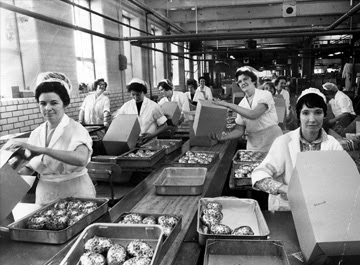 Cadbury's factory