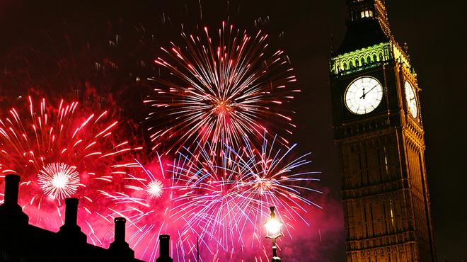 fireworks big ben