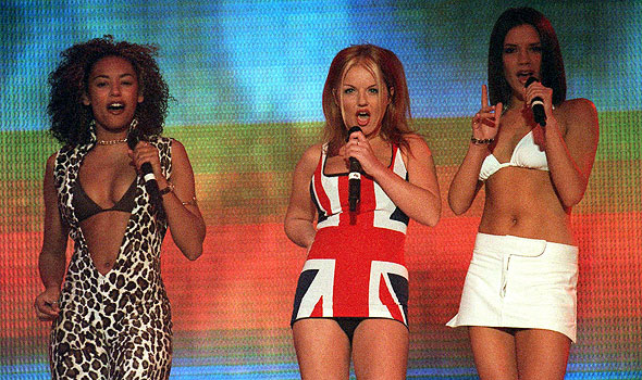 Spice Girls Union Jack