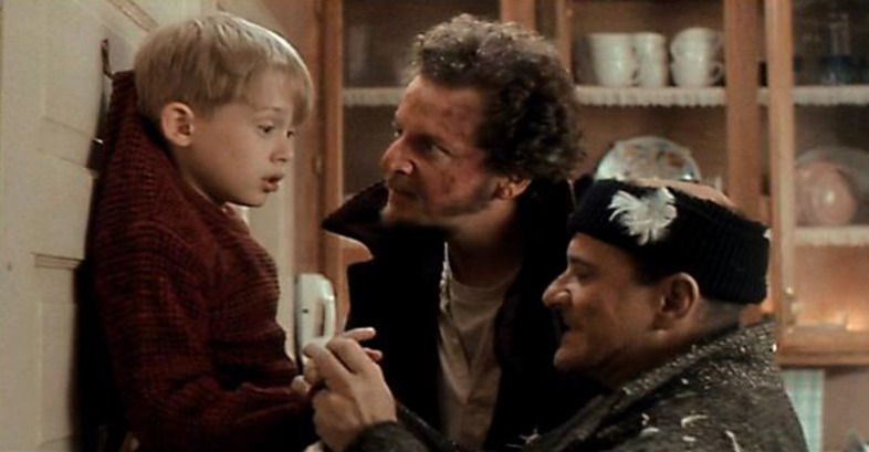 Home Alone wet bandits