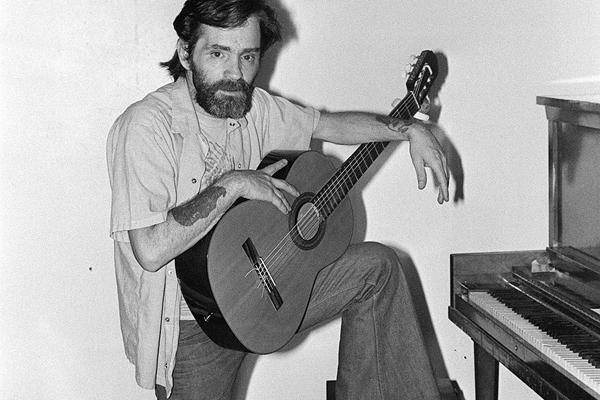 charles manson guitar