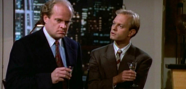 Nile and Frasier crane