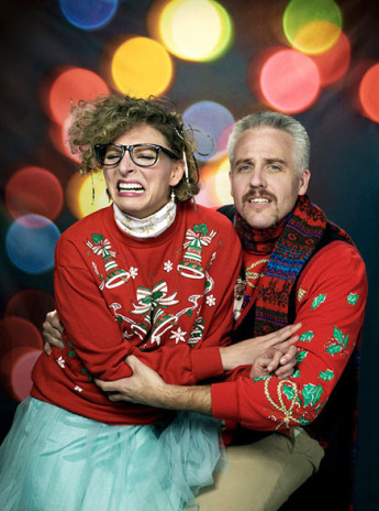 awkward Christmas photographs