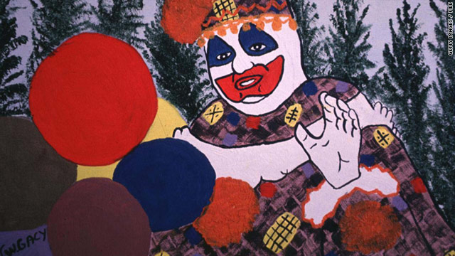 John Wayne Gacy paintings