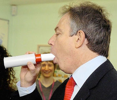 Tony Blair funny photo
