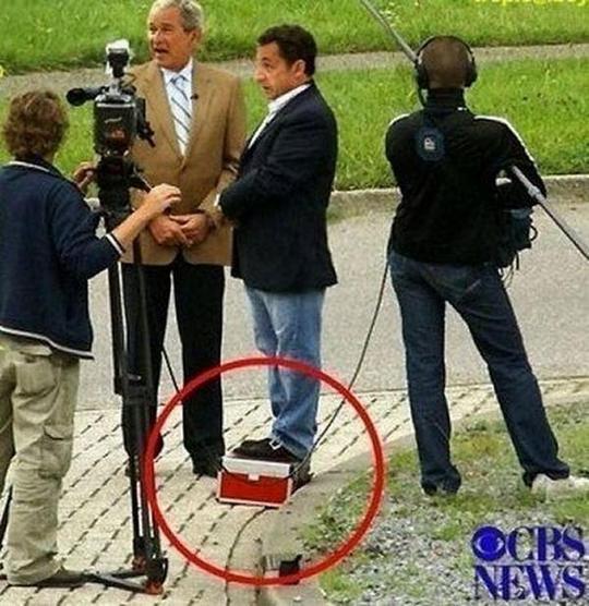 Nicolas Sarkozy funny pic