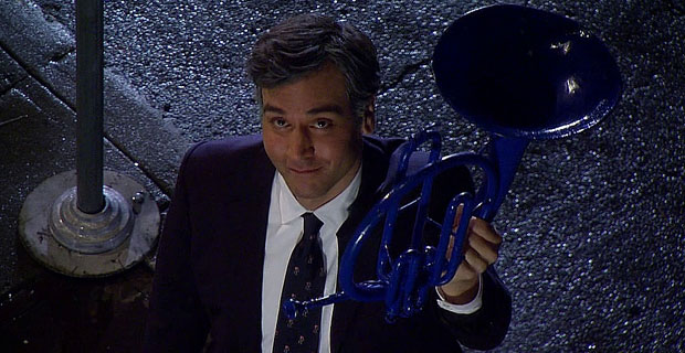 Ted's Blue French horn