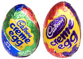 Creme Egg packaging colours