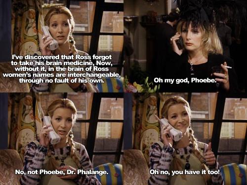 Phoebe Buffay regina phalange