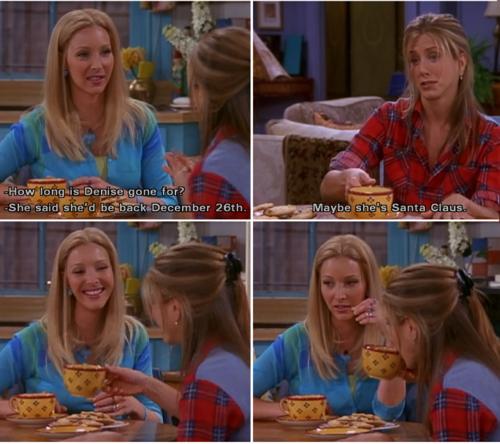 Phoebe Buffay's roomamate Denise