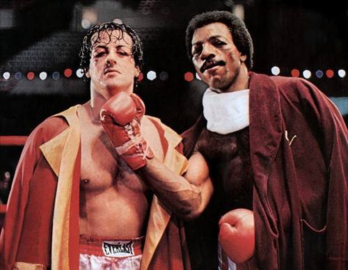 Rocky and Apollo Creed