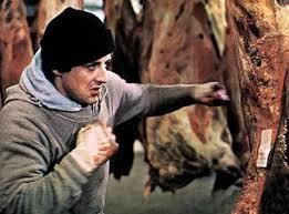 Rocky meat locker scene