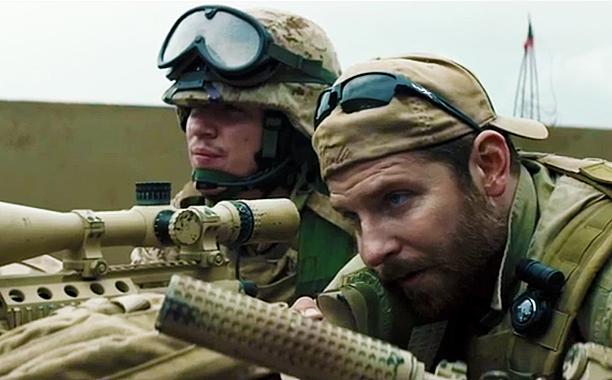 American sniper scene