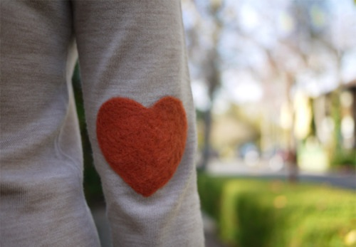 heart on sleeve