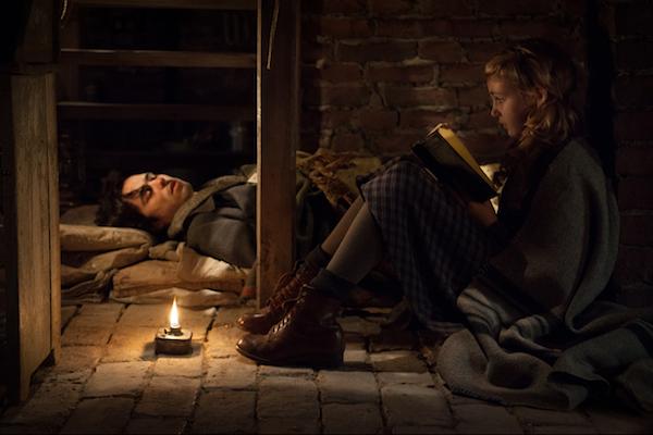 The Book Thief movie scene