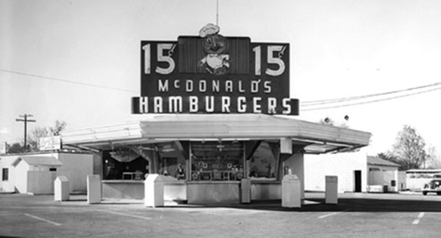 One of the first McDonald's