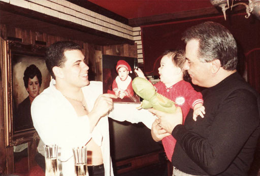 John Gotti with son