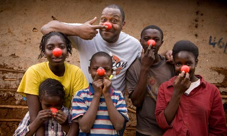 Comic Relief Projects
