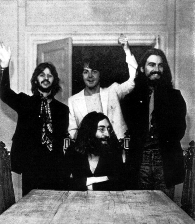 last photo of The Beatles