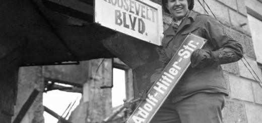 Roosevelt Blvd sign Germany