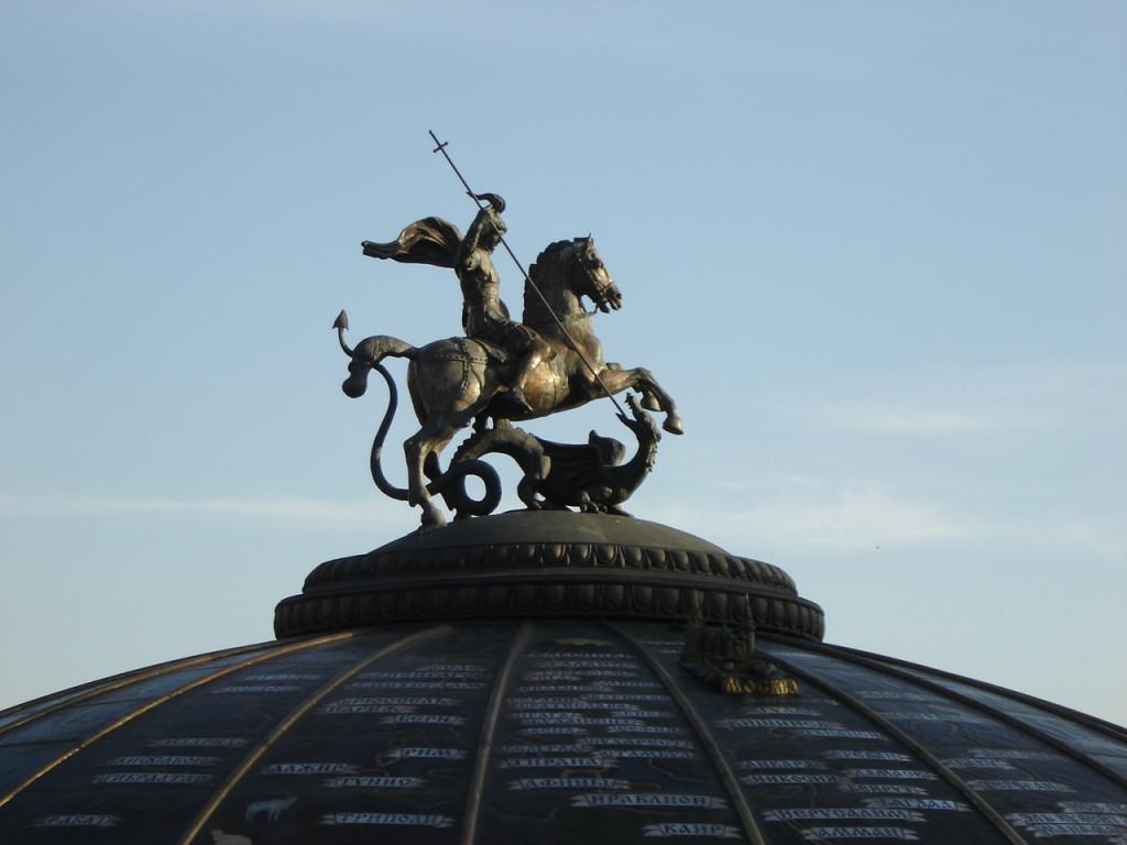 saint george statue