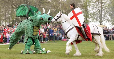 saint george and dragon