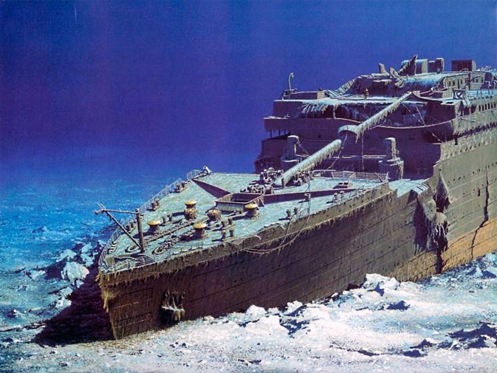 titanic wreck site