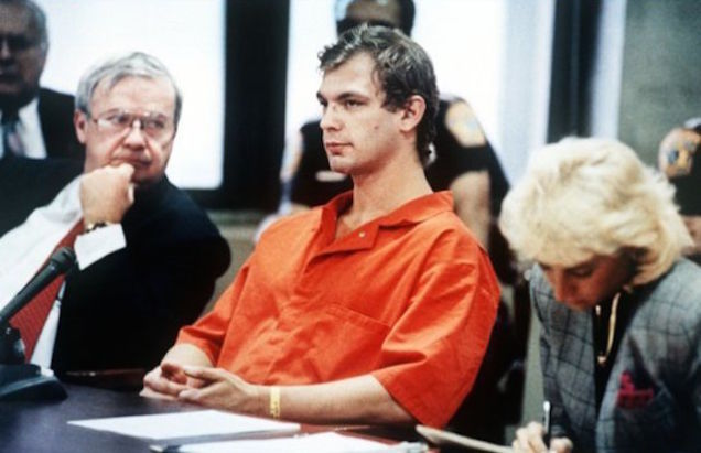 Jeffrey Dahmer in court